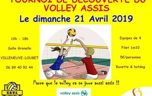 Tournois Volley assis